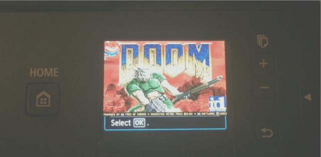 Installare Doom su una stampante Canon (News, Pensare)