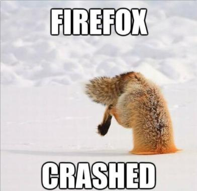 Firefox-crashed