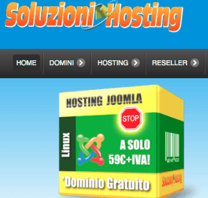 """<span class=""""entry-title-primary"""">Dominio + Hosting + Database + Email da soli 16€+iva annui</span> <span class=""""entry-subtitle"""">offerta dominio e hosting linux</span>"""