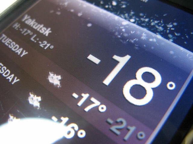 Come si comportano gli smartphone a temperature glaciali? (Guide)