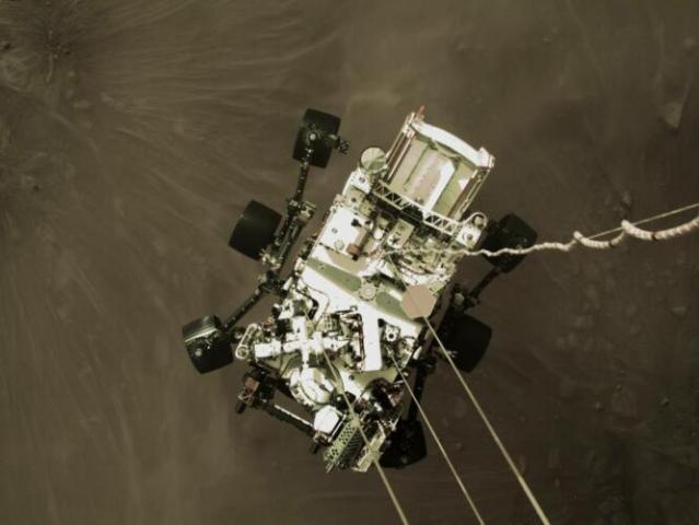 """""""Ammartaggio"""" compiuto: Perseverance è su Marte (News, Pensare)"""