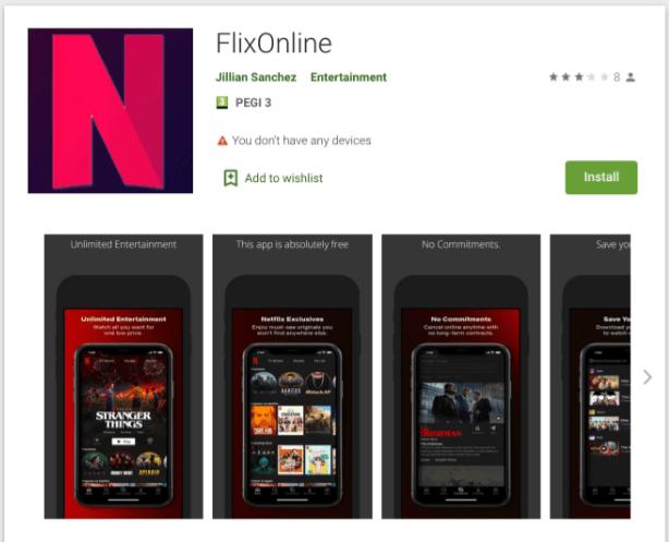 FlixOnline ti promette Netflix gratis, e gira su WhatsApp: ma è un virus-truffa (News, Assistenza Tecnica, Guide smartphone e Telefonia, IM (Messaggistica Istantanea))