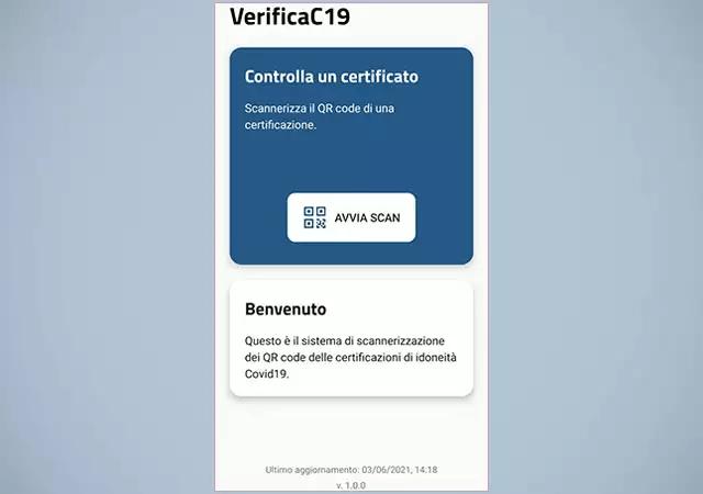 Green Pass: come funziona l'app VerificaC19 (Guide, Assistenza Tecnica)