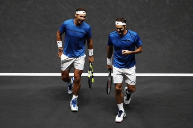 Nadal Federer Doubles Laver Cup