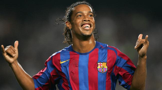 FC Barcelona Greatest XI - Ronaldinho
