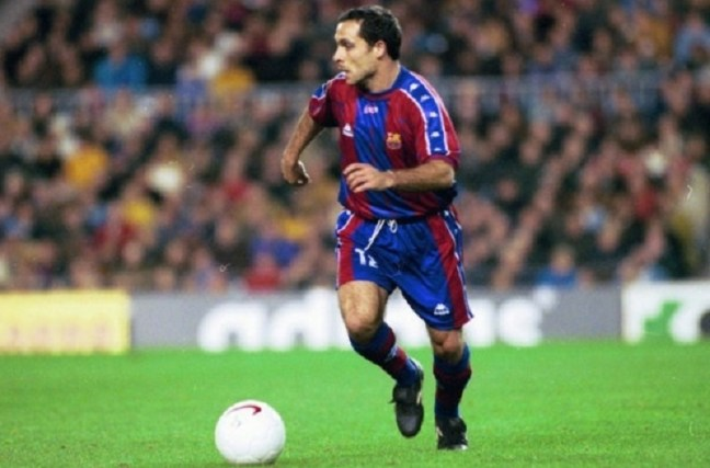 FC Barcelona Greatest XI - Sergi Barjuan
