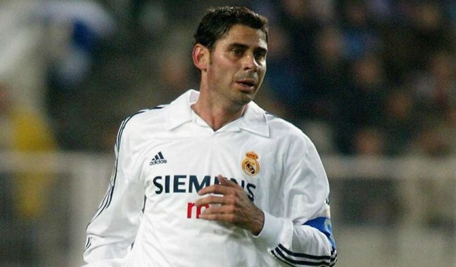 Real Madrid All Time Greatest XI - Fernando Hierro