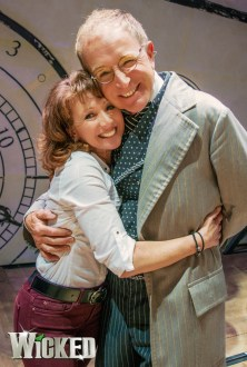 Bonnie Langford and Mark Curry