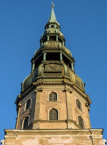 spire, Rīgas Sv. Pētera baznīca (St Peter's basilica), Riga Latvia