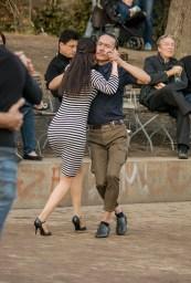 Tango dancers in Monbijoupark, Berlin