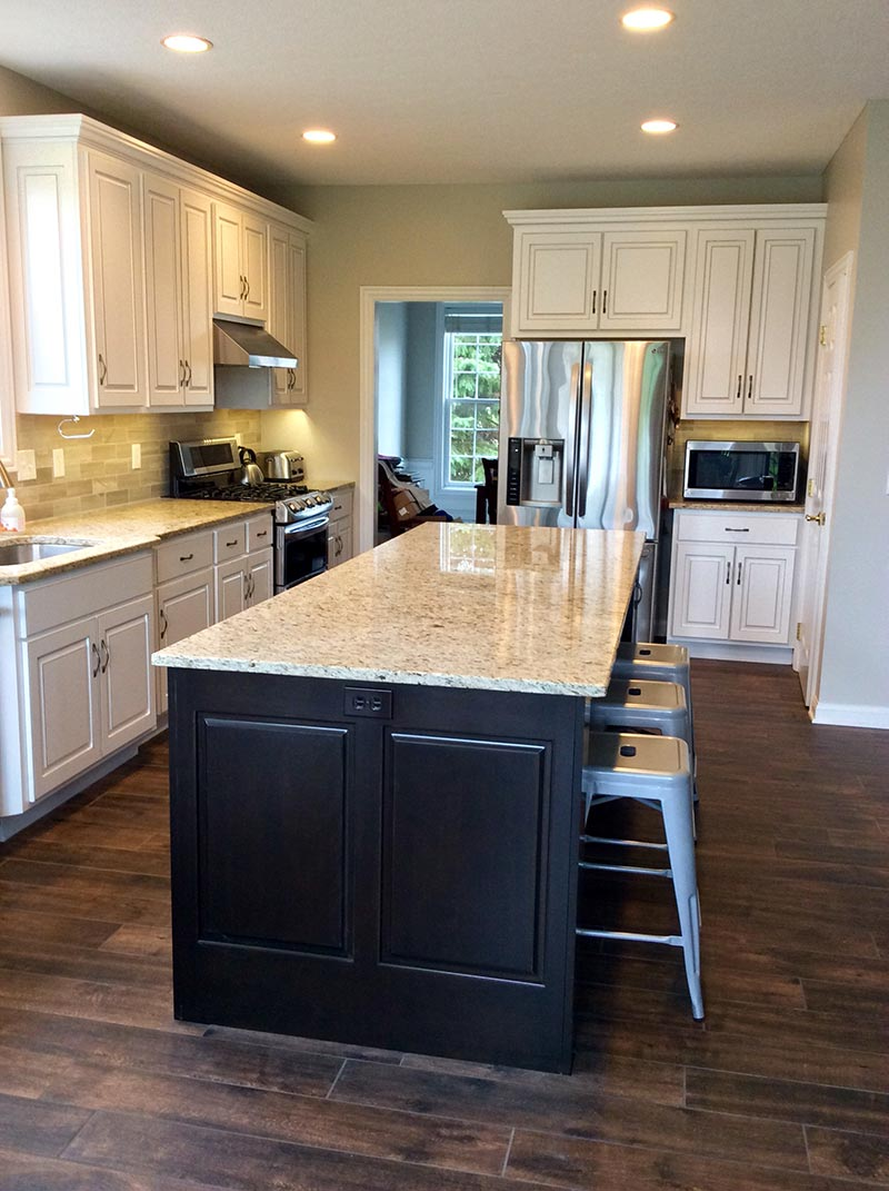 New Kitchen Cabinets Cabinet Refacing Columbus Troyer