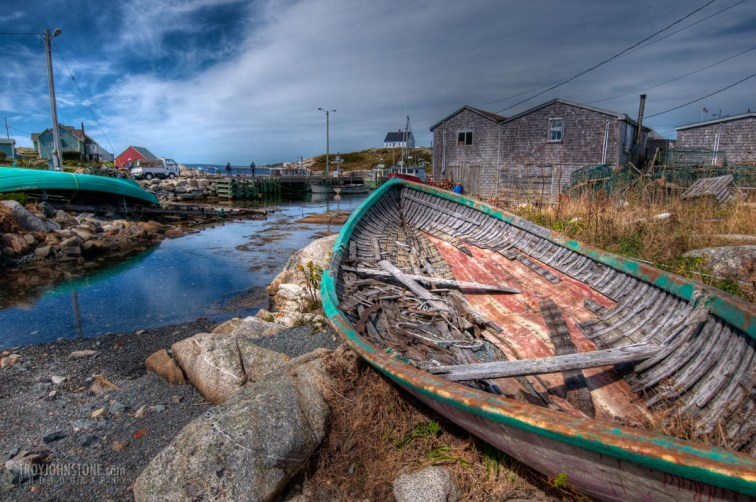 Peggy's Cove - old boat