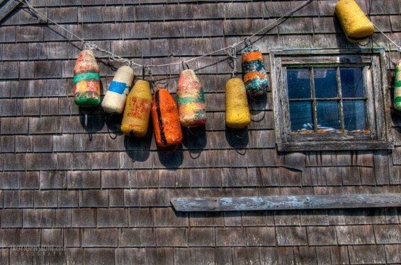Peggy's Cove - fishing bouys