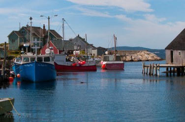 Peggy's Cove Fishing Boats