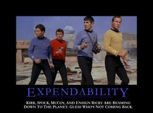 Redshirtexpendability
