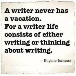 Imposter Syndrome: Writer vs. Author