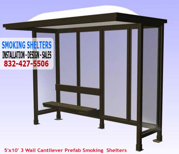 Prefabricated Smoking Shelter Sales, Installation & Design Services Nationwide
