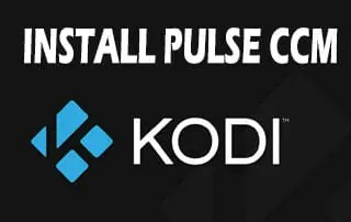 Install Pulse CCM On Kodi