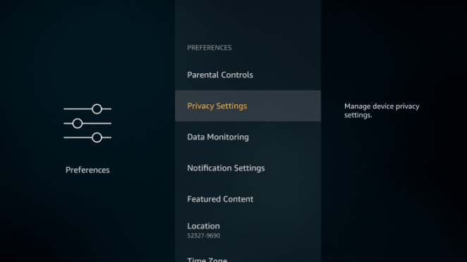 Disable interest based ads on Firestick and stop Amazon spying on you