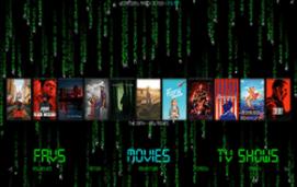 matrix kodi build