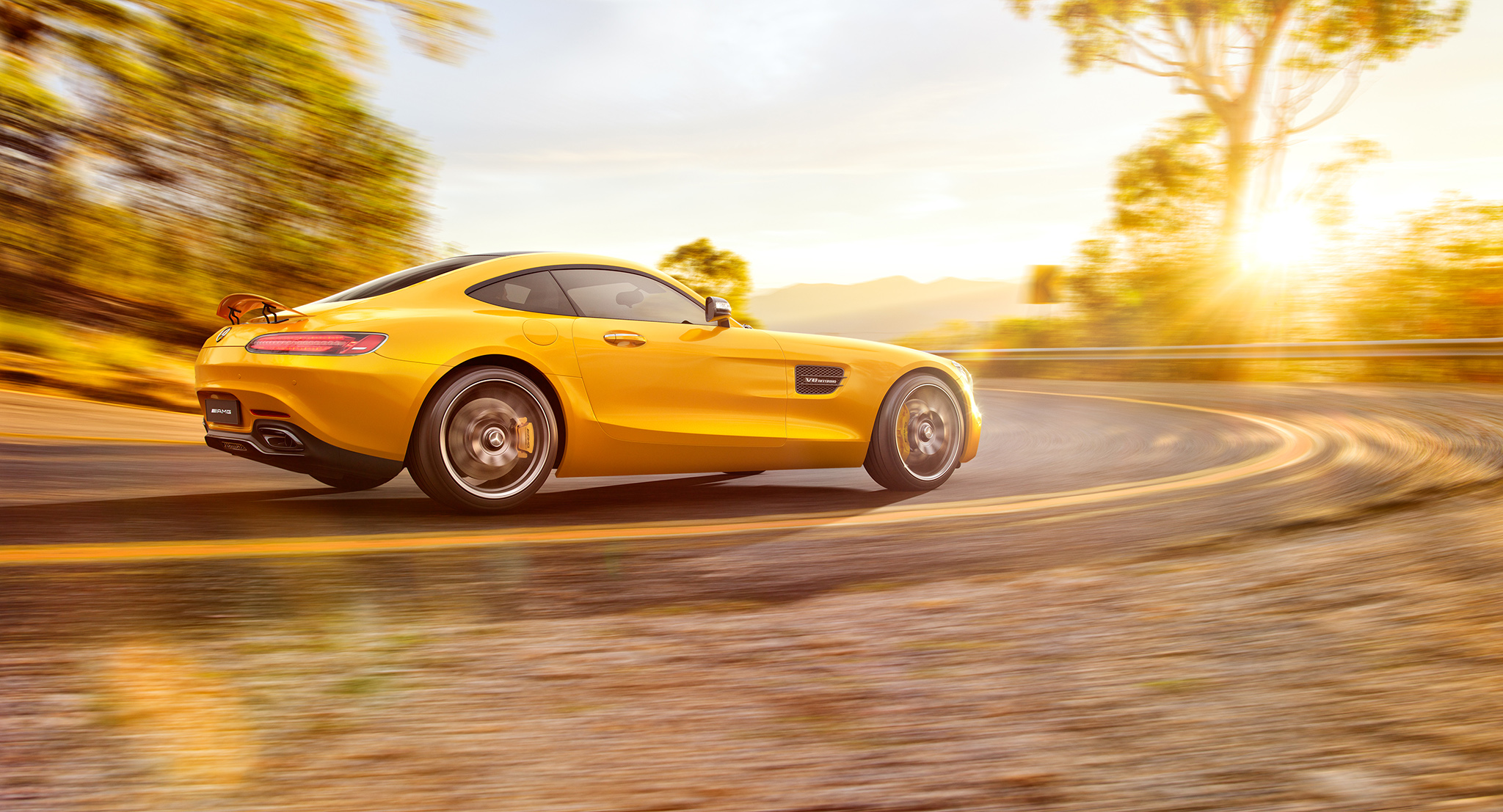 Mercedes-Benz AMG GT - CGI