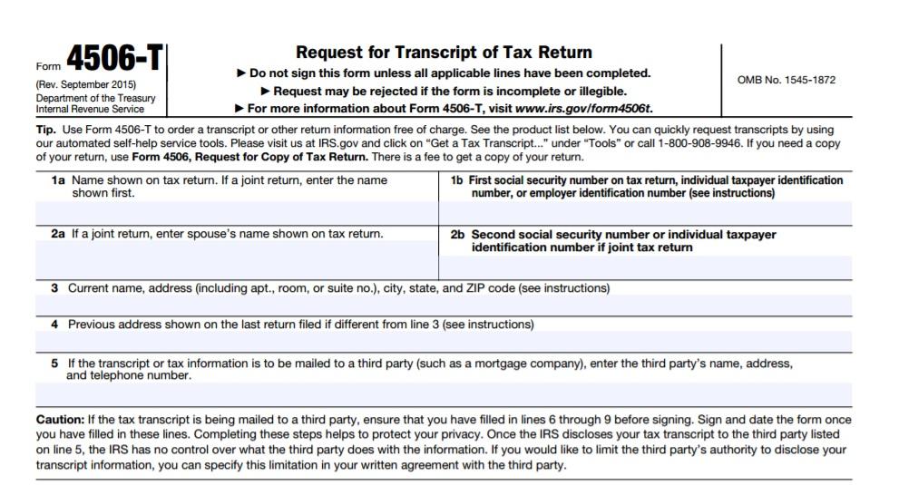 Order IRS Transcripts - Tax Resolution Professionals, A