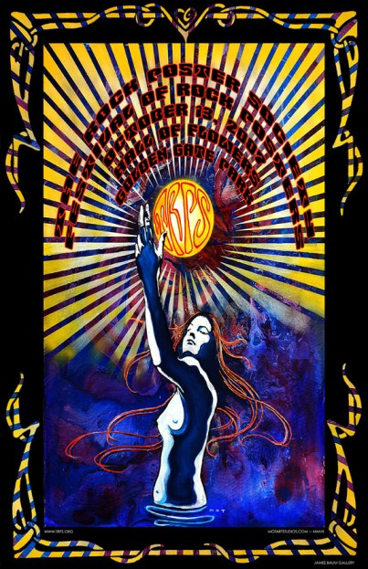 Festival of Rock Posters 2007 by MOT Studios