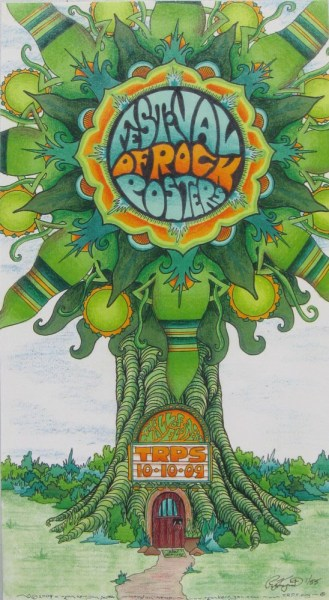 Festival of Rock Posters 2009 by Ryan Kerrigan