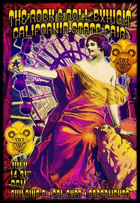 California State Fair 2011 poster by Alexandra Fischer