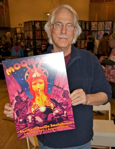 David Singer newest Moonalice poster