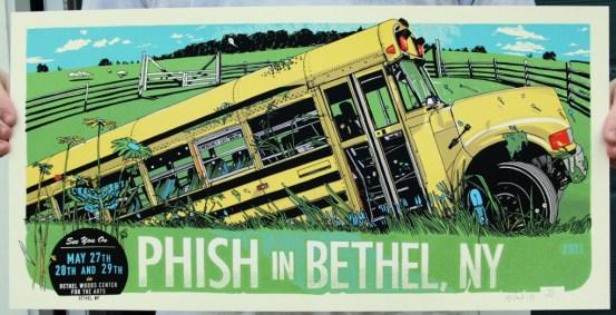 Phish, May 27-29, 2011, Bethel, New York.