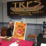 Mark Rodriguez at TRPS booth