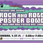 Rock and Roll Poster Bowl