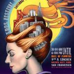 TRPS Festival of Rock Posters 2014 poster by Lauren Yurkovich