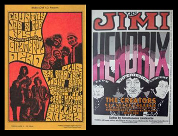 Central Valley Turns Psychedelic Poster Art