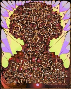 Festival of Rock Posters 2003 by Lee Conklin