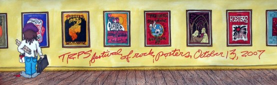 Festival of Rock Posters 2007 by Ryan Kerrigan