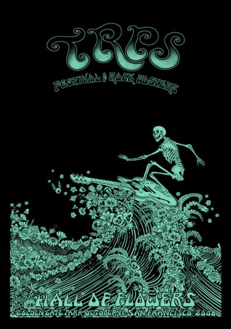 TRPS glow in the dark poster by EMEK