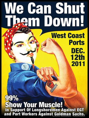 Occupy poster by Alexandra Fischer