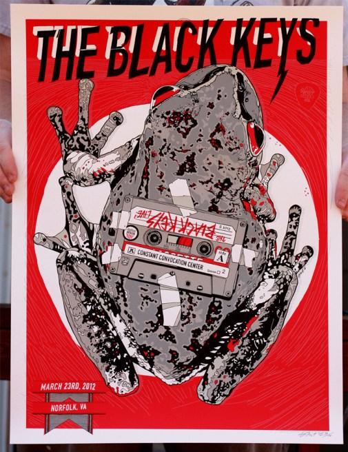 The Black Keys, March 23, 2012, Norfolk, Virginia.