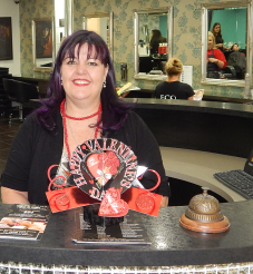 Salon Maager and colour specialist, Hilda, welcomes you to Niko & Okin