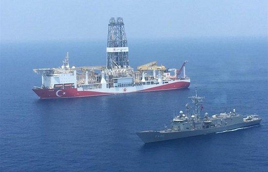 Турецкий буровой корабль прибывает на Кипр сегодня