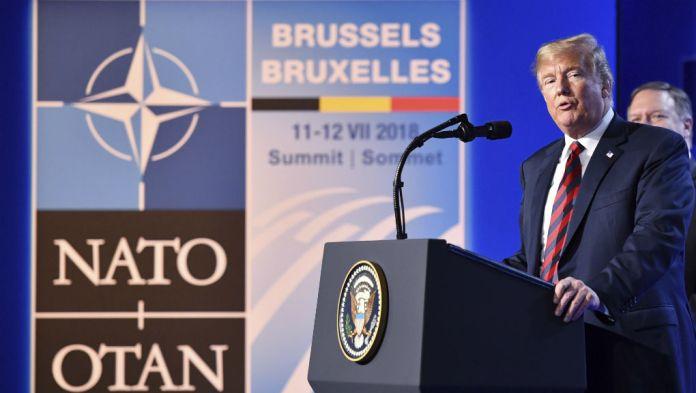 Τραμπ: «Θα μπορούσαμε να φύγουμε από το ΝΑΤΟ, αλλά δεν είναι απαραίτητο»