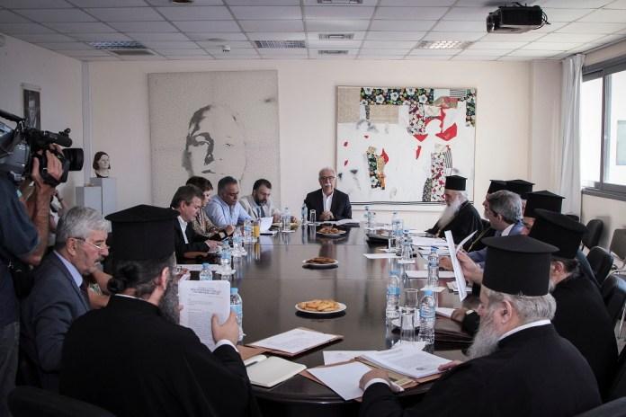 «Εξαιρετικά παραγωγική» η συνεδρίαση των επιτροπών Πολιτείας-Εκκλησίας στο υπ. Παιδείας