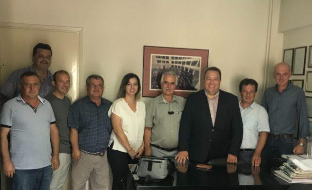 Κομοτηνή: Με την Ένωση Καπνοπαραγωγών συναντήθηκε ο Ε. Στυλιανίδης