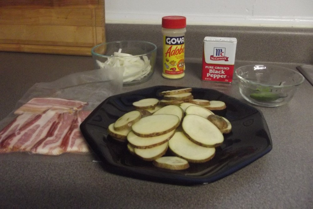 Fried Potatoes in Bacon Grease; Recipe (2/2)