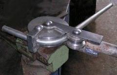 трубогиб для круглой трубы сделанный своими руками фото