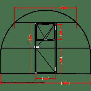 Фото: Дверь и окно. Как сделать основание?