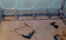 Как сделать каркас короба для труб