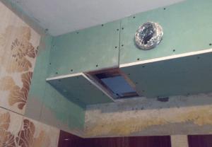 Фото: Сделать короб в ванной из гипсокартона